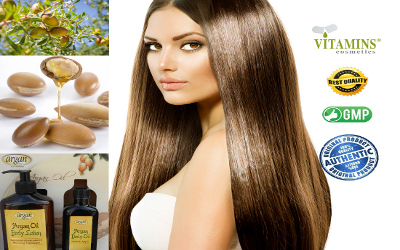Vitamins Argan Body Oil Treatment Product Description