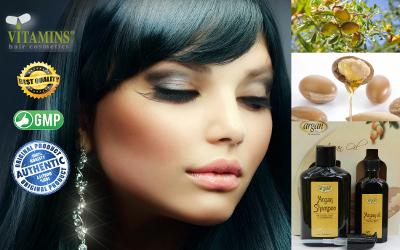 Vitamins Argan Oil Shampoo Product Description