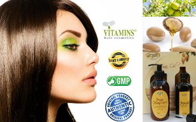 Vitamins Argan Styling Cream Product Description