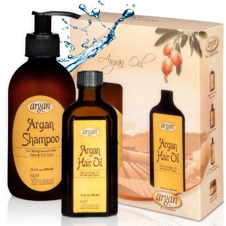After Straightening Argan Shampoo Kit