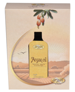 Vitamins Argan Oil with Box