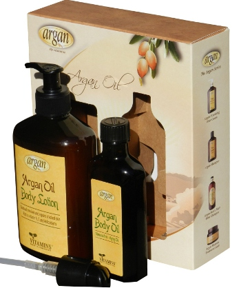 vitamins argan body oil skin treatment