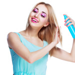 DIY Shimmering Hair Spray thumbnail